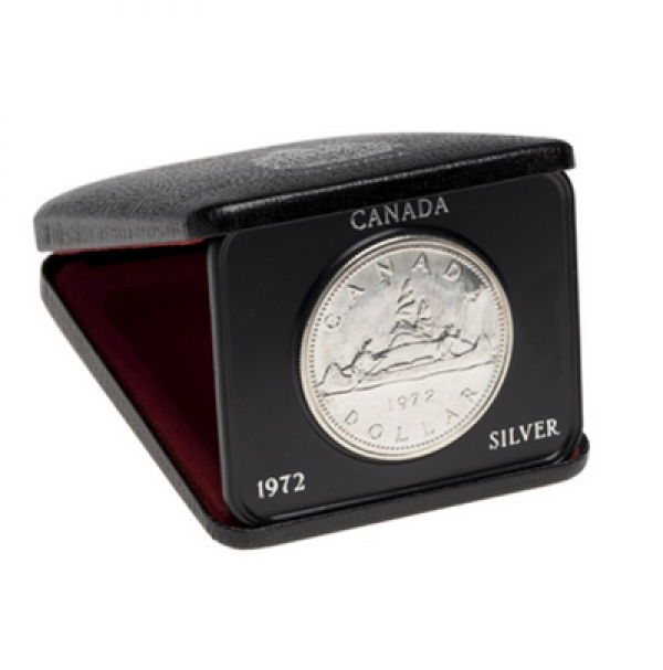 1972 Specimen Silver Dollar - Voyageur Design