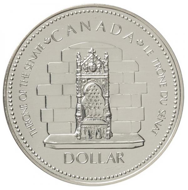 1977 Canada Specimen Silver Dollar - Queen Elizabeth II Silver Jubilee