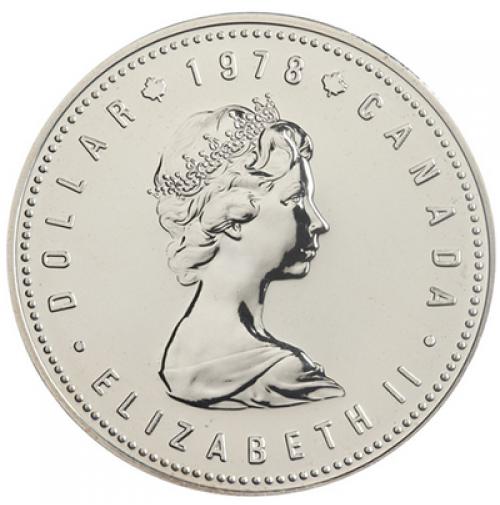 1978 Specimen Silver Dollar 11th Commonwealth Games