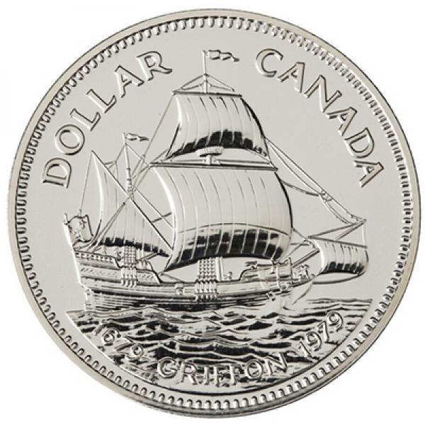 1979 Canada Specimen Silver Dollar - Griffon Tricentennial