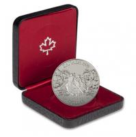 1989 Proof Silver Dollar - Mackenzie River Bicentennial