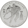 1993 Proof Silver Dollar - 100th Anniversary of the Stanley Cup