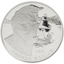 1995 Canada Proof Silver Dollar - 325th Anniversary of the Hudson's Bay Company