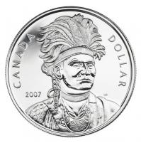 2007 Brilliant Uncirculated Silver Dollar - Thayendanegea