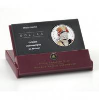 2007 Proof Enameled Silver Dollar - Thayendanegea