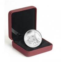 2010 Proof Silver Dollar - 100th Anniversary of the Canadian Navy