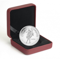 2012 Proof Fine Silver Dollar - 100th Anniversary of the Calgary Stampede