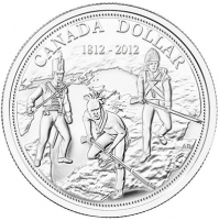 2012 Brilliant Uncirculated Fine Silver Dollar - 200th Anniversary of the War of 1812