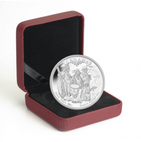 2013 Proof Fine Silver Dollar - 250th Anniversary of the End of the Seven Years War