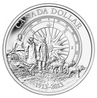 2013 Brilliant Uncirculated Fine Silver Dollar - Arctic Expedition