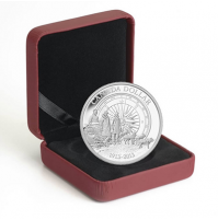 2013 Proof Fine Silver Dollar - Arctic Expedition