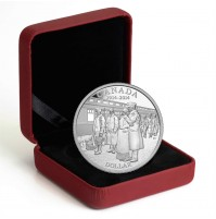 2014 Proof Fine Silver Dollar - 100th Anniversary of the Declaration of the First World War / No COA