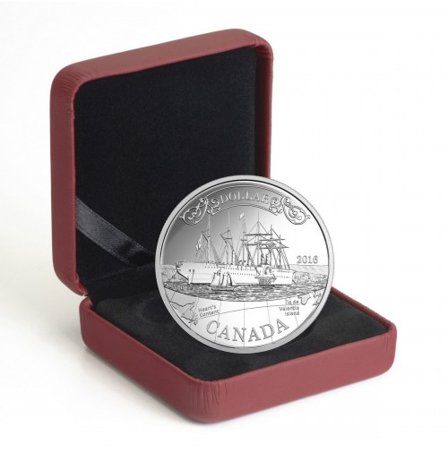 2016 Proof Fine Silver Dollar - 150th Anniversary of the Transatlantic Cable