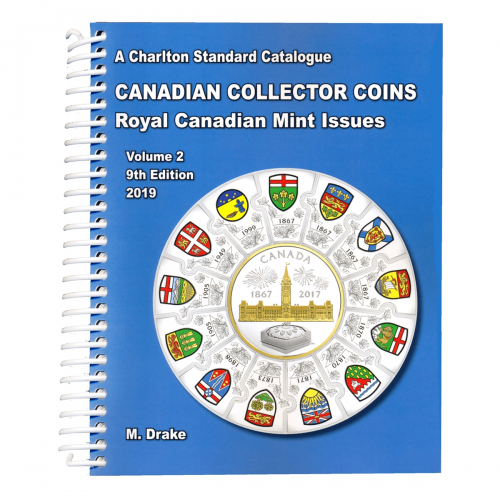 2019 Charlton Standard Catalogue of Canadian Coins Vol. 2: Royal Canadian Mint Issues - 9th Edition