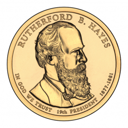 2011-P American $1 Presidential Series: Rutherford B. Hayes Brilliant Uncirculated Coin