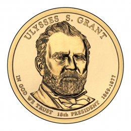 2011-P American $1 Presidential Series: Ulysses S. Grant Brilliant Uncirculated Coin
