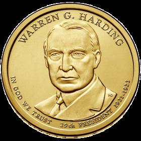 2014-D American $1 Presidential Series: Warren G. Harding Brilliant Uncirculated Coin