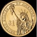 2014-P American $1 Presidential Series: Warren G. Harding Brilliant Uncirculated Coin