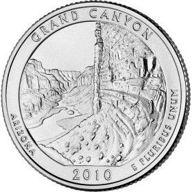 Single 2010-P Uncirculated Yosemite National Park Quarter