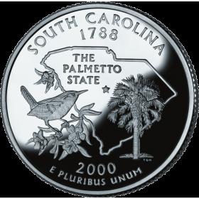 2000 US Quarter Wren bird South Carolina 25 cents animal wildlife coin