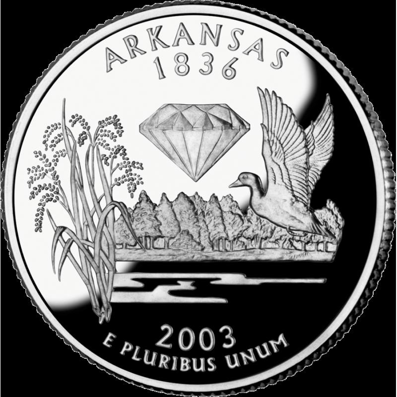US 2003 State Quarter BU Uncirculated 25 Cent Coin Genuine Black Leather Necklace Missouri Illinois Maine Alabama Arkansas