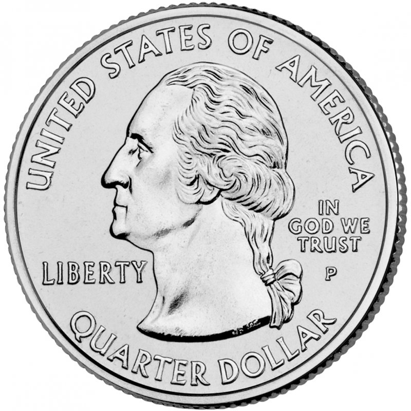 """A COMPLETE 2007 Five Coin /""""Brilliant Uncirculated/"""" US State Quarter Set"""