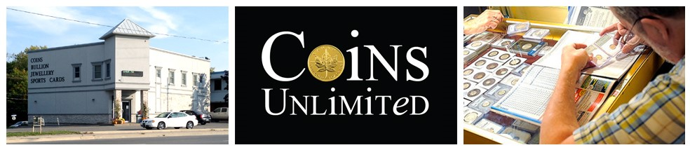 Coins Unlimited | Coins & Collectibles | 620 Niagara St, Welland, ON | www.coinsunlimited.ca