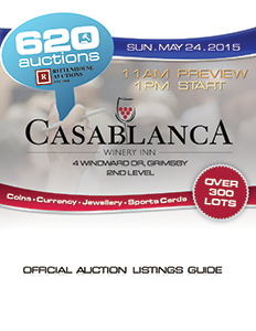 Official Auction Listings Guide - 620 Auctions - 8 Feb 15