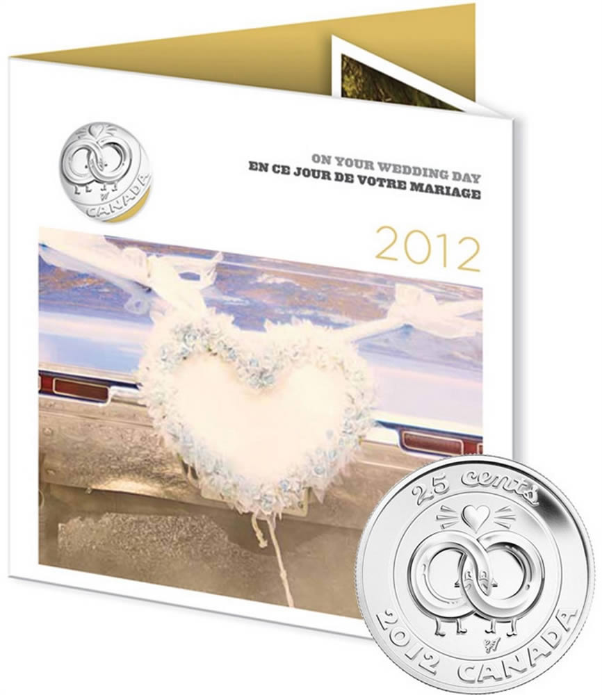 ... 2012 wedding coin gift set canada 2012 wedding coin set included are